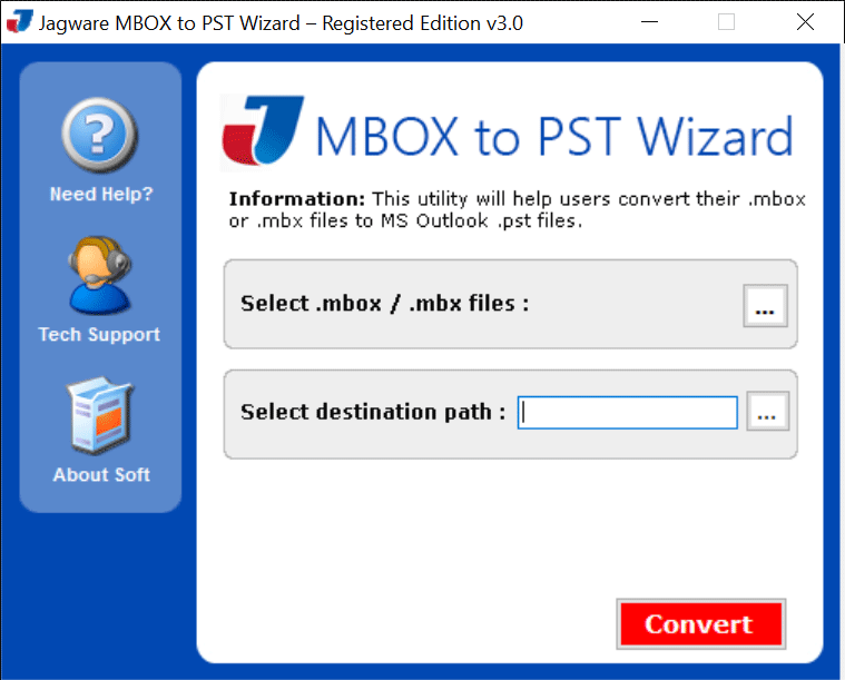 Windows 7 MBOX to PST Wizard 3.0 full